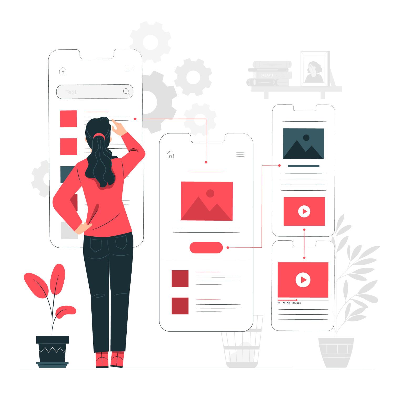 App Desing, creazione del design e grafica per le app