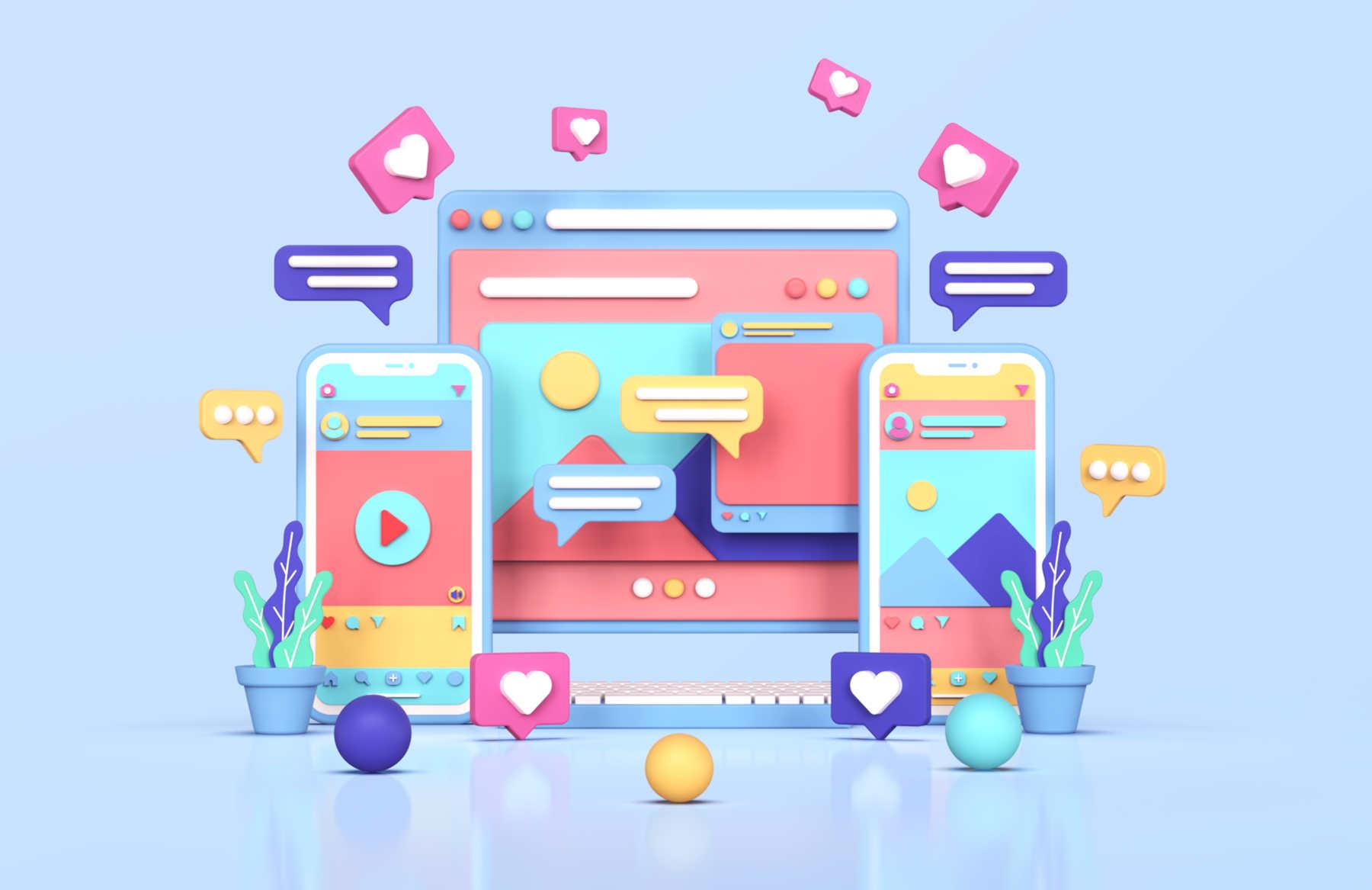 Creazione di Campagne Social, Social Media Marketing, Facebook Ads, Instagram Ads, Pinterest Ads