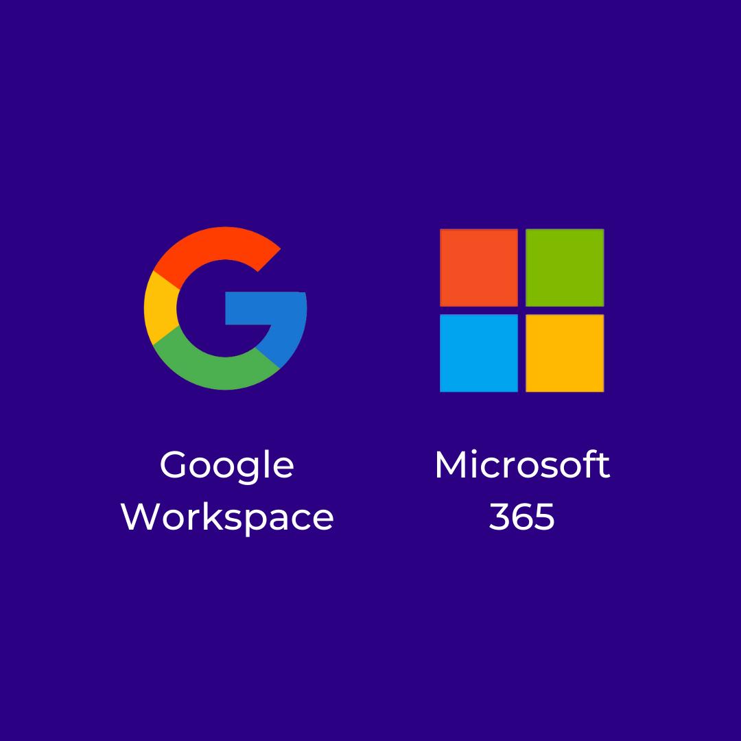 Google Workspace e Microsoft 365