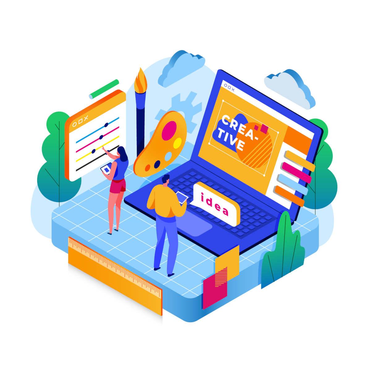 Web design per la realizzazione di siti web